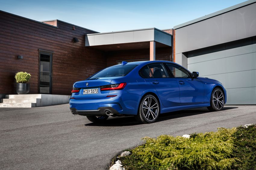 G20 BMW 3 Series officially revealed – up to 55 kg lighter with new engines, suspension, technologies Image #867487