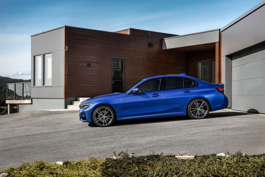 G20 BMW 3 Series officially revealed – up to 55 kg lighter with new engines, suspension, technologies Image #867488