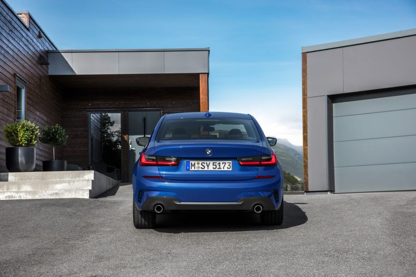 G20 BMW 3 Series officially revealed – up to 55 kg lighter with new engines, suspension, technologies Image #867490