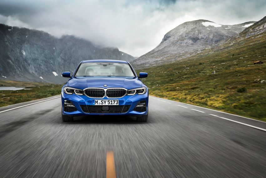 G20 BMW 3 Series officially revealed – up to 55 kg lighter with new engines, suspension, technologies Image #867468