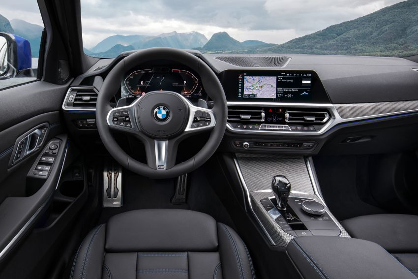G20 BMW 3 Series officially revealed – up to 55 kg lighter with new engines, suspension, technologies Image #867501