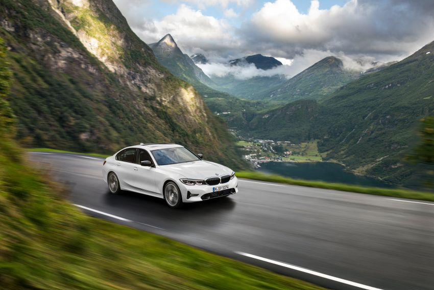 G20 BMW 3 Series officially revealed – up to 55 kg lighter with new engines, suspension, technologies Image #867509