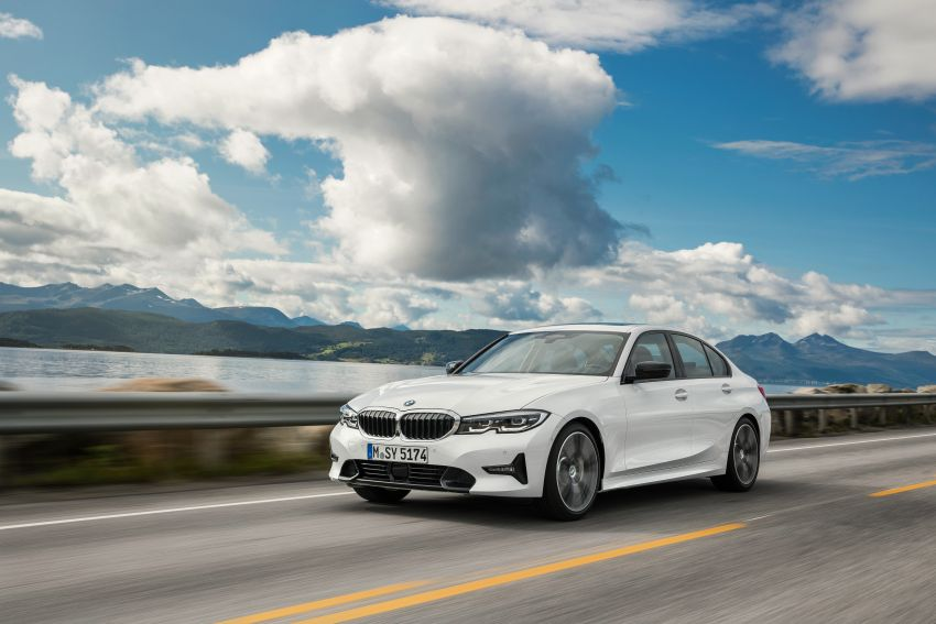 G20 BMW 3 Series officially revealed – up to 55 kg lighter with new engines, suspension, technologies Image #867510