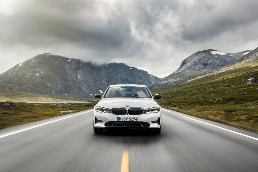 G20 BMW 3 Series officially revealed – up to 55 kg lighter with new engines, suspension, technologies Image #867513