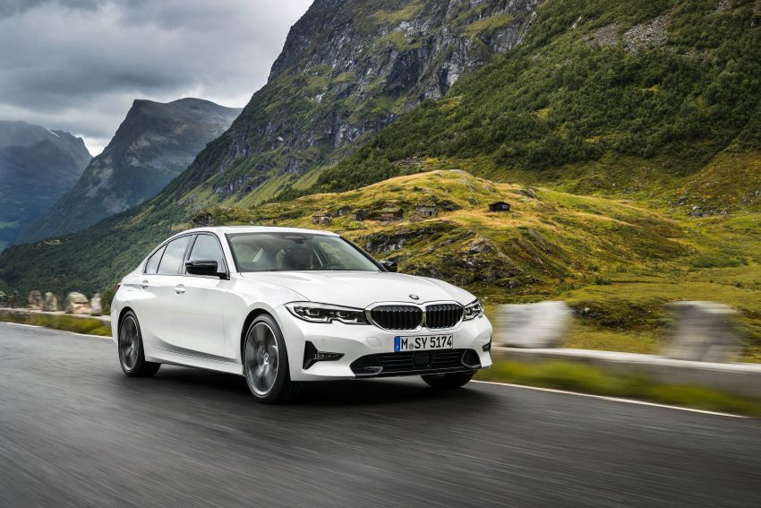 G20 BMW 3 Series officially revealed – up to 55 kg lighter with new engines, suspension, technologies Image #867515