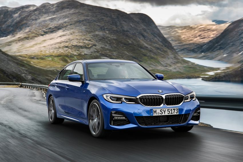 G20 BMW 3 Series officially revealed – up to 55 kg lighter with new engines, suspension, technologies Image #867470