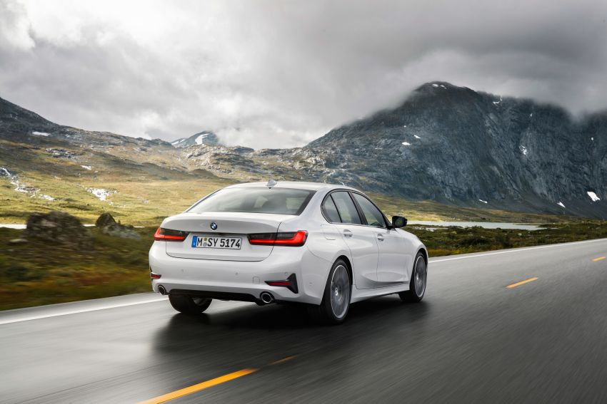 G20 BMW 3 Series officially revealed – up to 55 kg lighter with new engines, suspension, technologies Image #867517