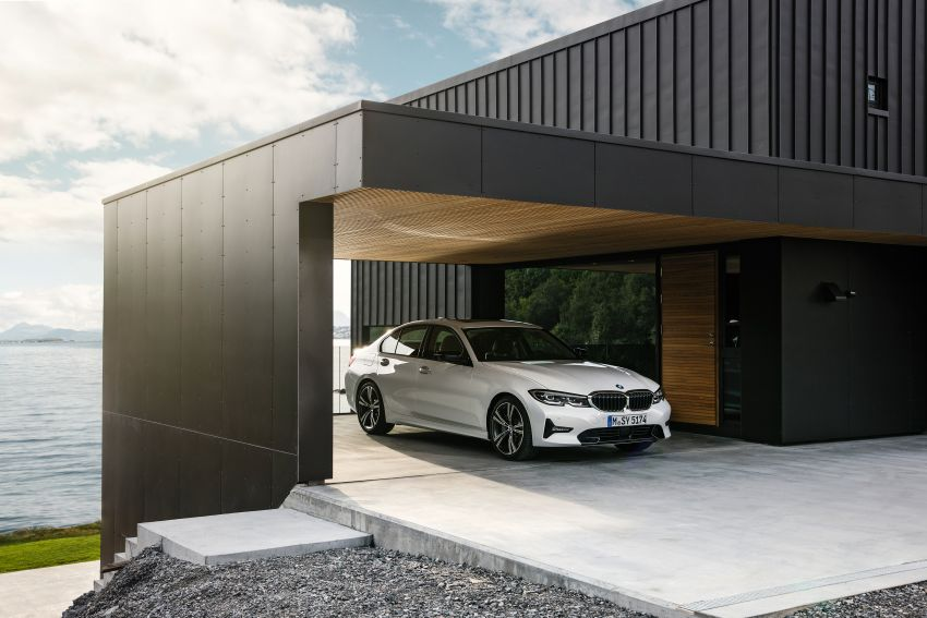 G20 BMW 3 Series officially revealed – up to 55 kg lighter with new engines, suspension, technologies Image #867520