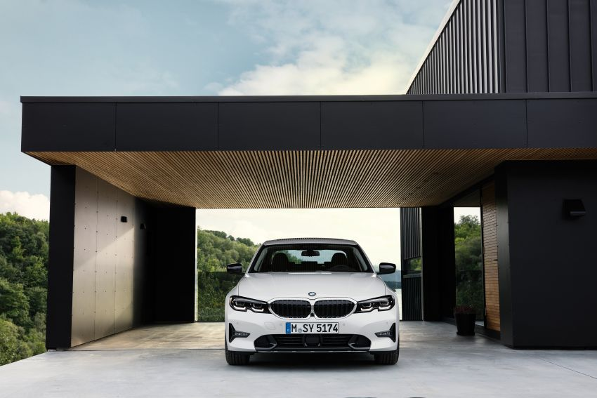 G20 BMW 3 Series officially revealed – up to 55 kg lighter with new engines, suspension, technologies Image #867521