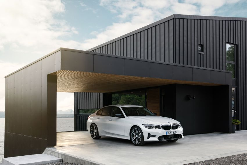 G20 BMW 3 Series officially revealed – up to 55 kg lighter with new engines, suspension, technologies Image #867522