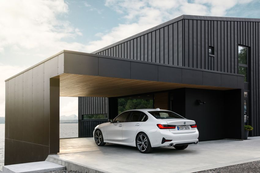 G20 BMW 3 Series officially revealed – up to 55 kg lighter with new engines, suspension, technologies Image #867523