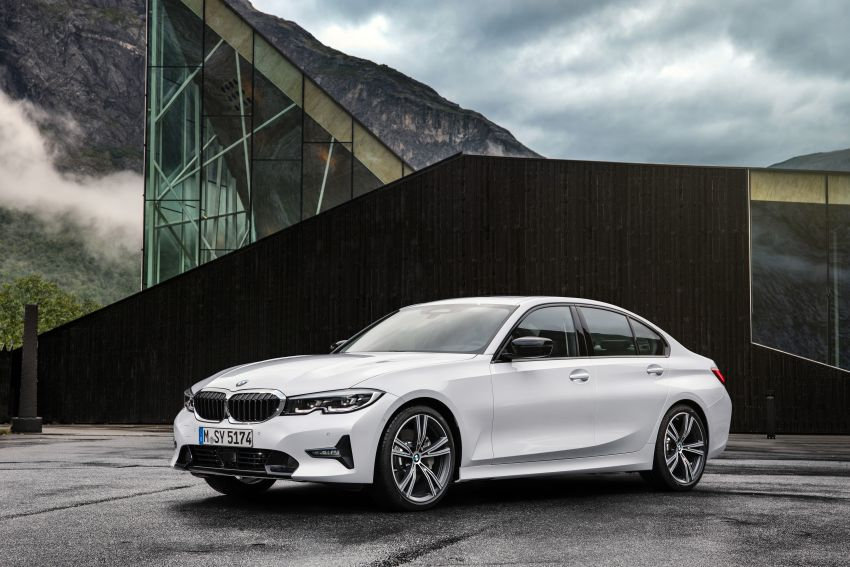G20 BMW 3 Series officially revealed – up to 55 kg lighter with new engines, suspension, technologies Image #867525