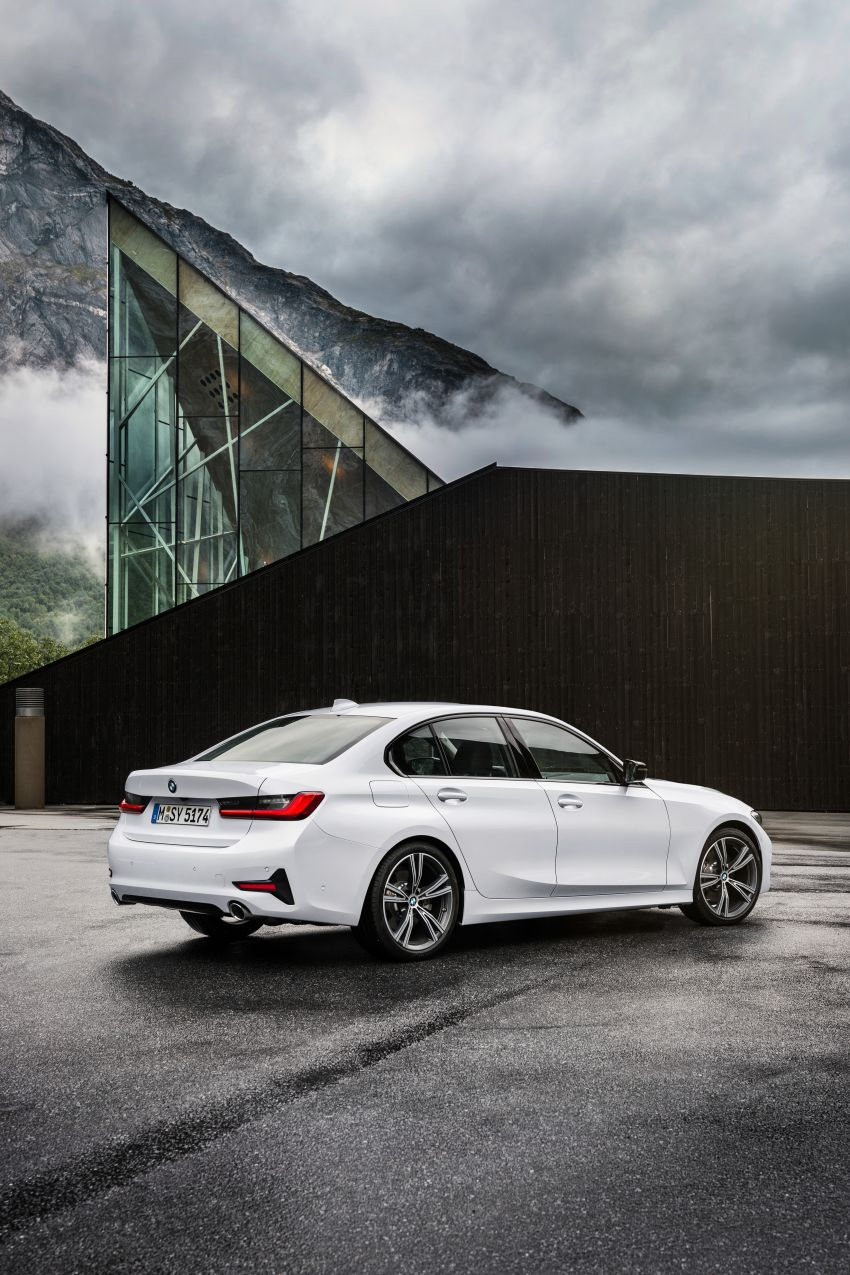 G20 BMW 3 Series officially revealed – up to 55 kg lighter with new engines, suspension, technologies Image #867526