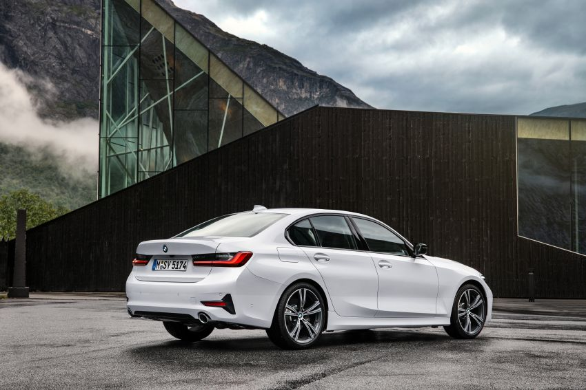 G20 BMW 3 Series officially revealed – up to 55 kg lighter with new engines, suspension, technologies Image #867527