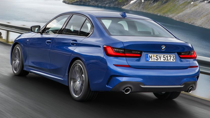 G20 BMW 3 Series officially revealed – up to 55 kg lighter with new engines, suspension, technologies Image #867471