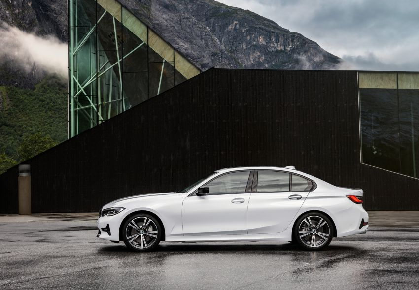 G20 BMW 3 Series officially revealed – up to 55 kg lighter with new engines, suspension, technologies Image #867529