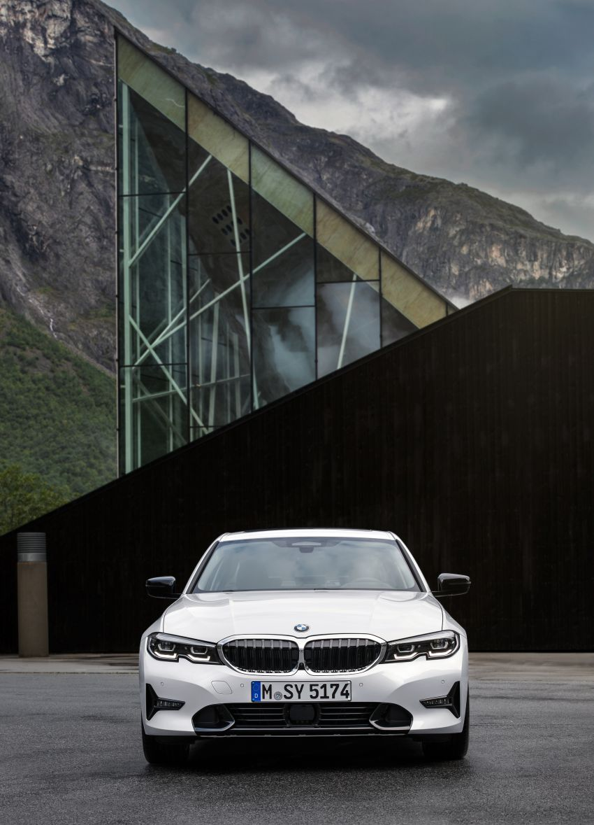 G20 BMW 3 Series officially revealed – up to 55 kg lighter with new engines, suspension, technologies Image #867530