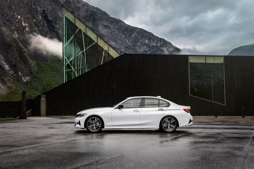 G20 BMW 3 Series officially revealed – up to 55 kg lighter with new engines, suspension, technologies Image #867531