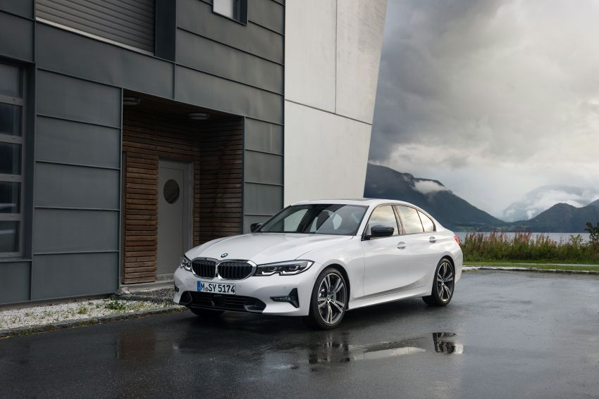 G20 BMW 3 Series officially revealed – up to 55 kg lighter with new engines, suspension, technologies Image #867532