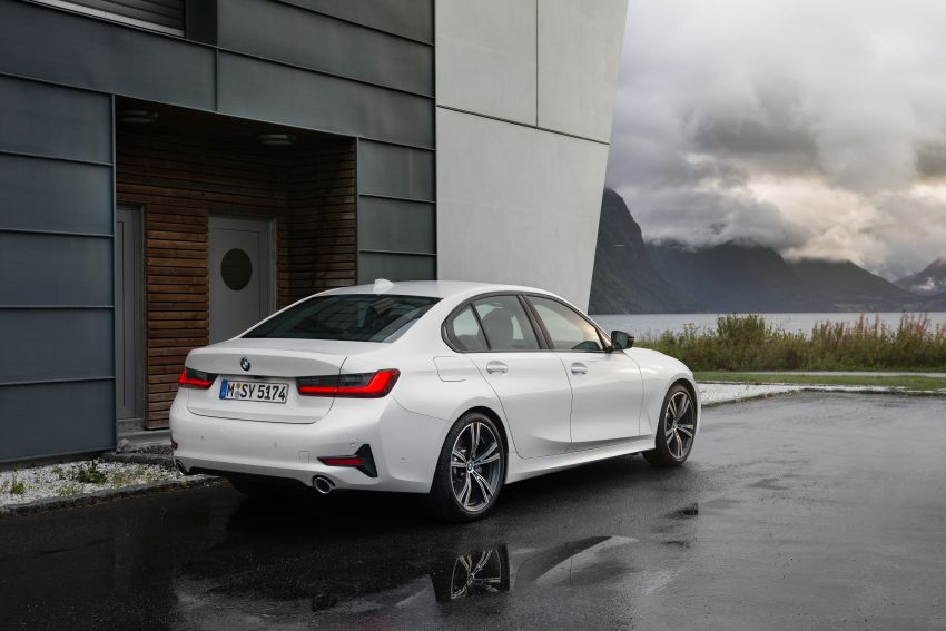 G20 BMW 3 Series officially revealed – up to 55 kg lighter with new engines, suspension, technologies Image #867535