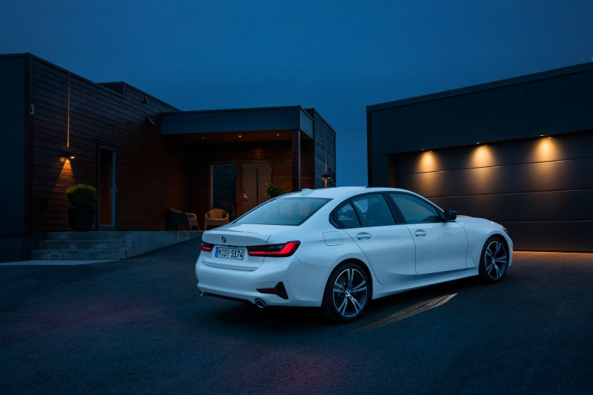 G20 BMW 3 Series officially revealed – up to 55 kg lighter with new engines, suspension, technologies Image #867538