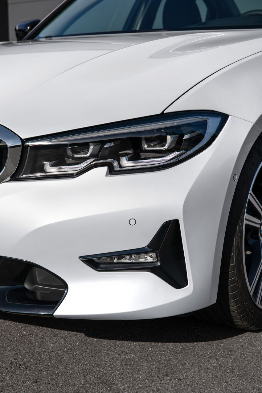 G20 BMW 3 Series officially revealed – up to 55 kg lighter with new engines, suspension, technologies Image #867541