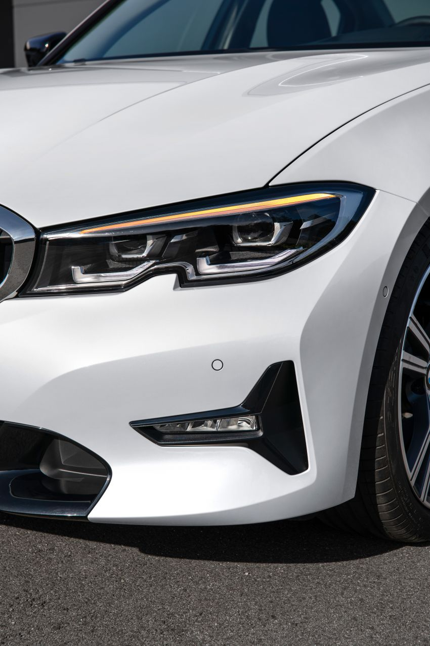 G20 BMW 3 Series officially revealed – up to 55 kg lighter with new engines, suspension, technologies Image #867543