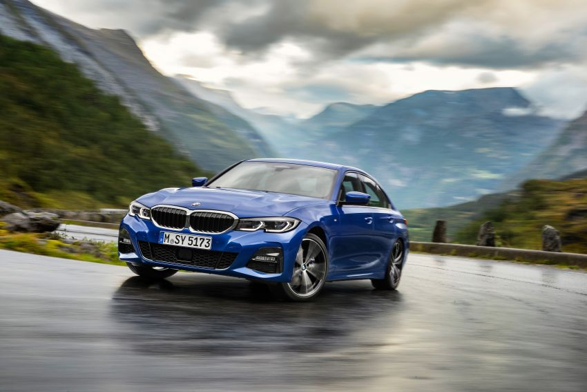 G20 BMW 3 Series officially revealed – up to 55 kg lighter with new engines, suspension, technologies Image #867472