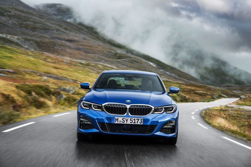G20 BMW 3 Series officially revealed – up to 55 kg lighter with new engines, suspension, technologies Image #867473