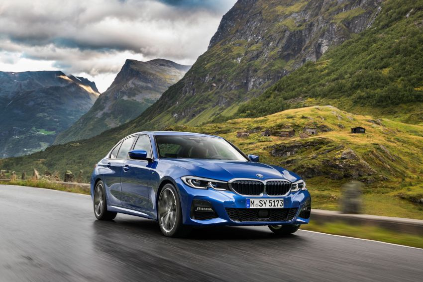 G20 BMW 3 Series officially revealed – up to 55 kg lighter with new engines, suspension, technologies Image #867474
