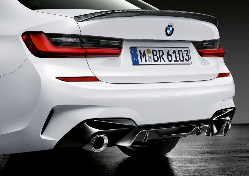 M Performance parts for G20 BMW 3 Series revealed Image #868064