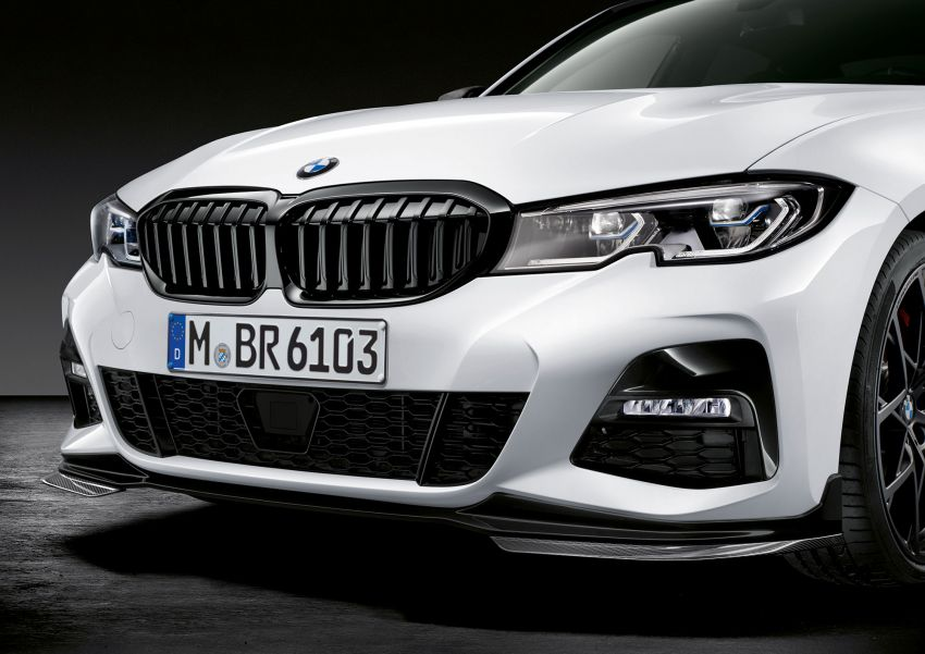 M Performance parts for G20 BMW 3 Series revealed Image #868079