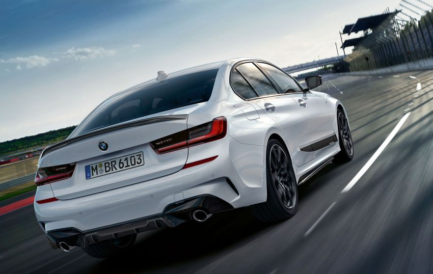 M Performance parts for G20 BMW 3 Series revealed Image #868081