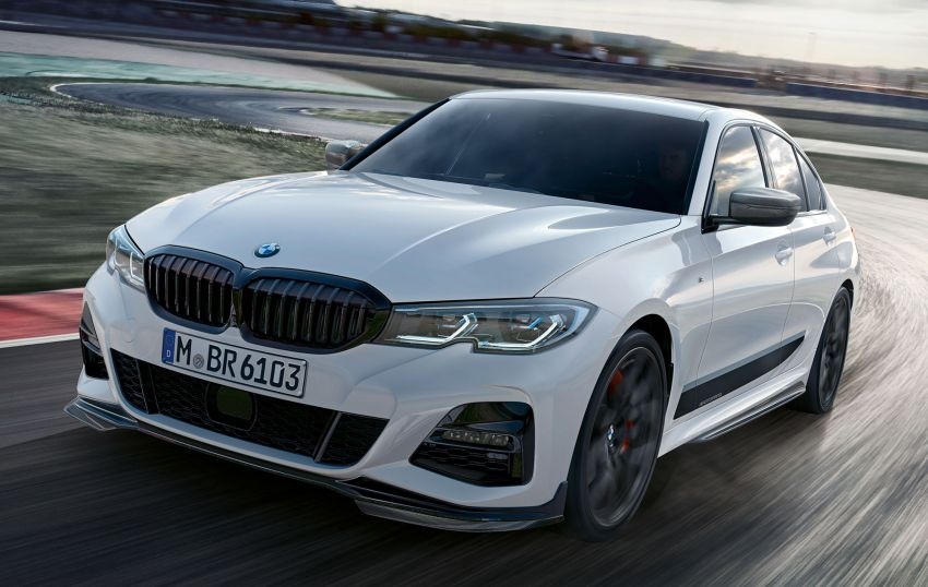 M Performance parts for G20 BMW 3 Series revealed Image #868069