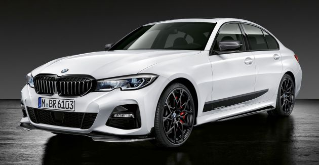 M Performance Parts For G20 Bmw 3 Series Revealed