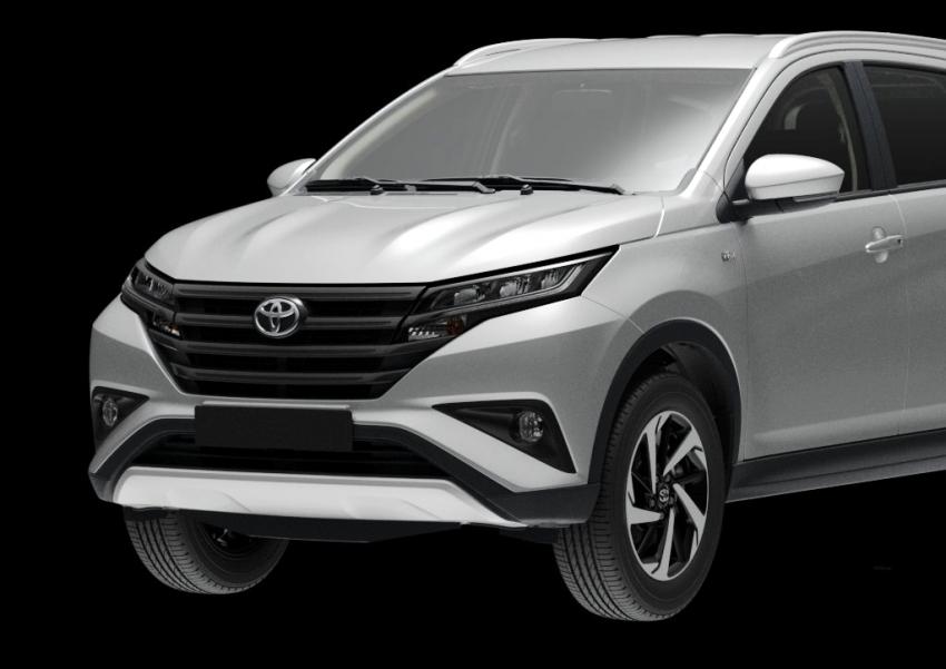 Toyota Rush 2018 rasmi dilancarkan di Malaysia – 7-tempat duduk, 1.5L, dua varian, harga RM93k-RM98k Image #874526