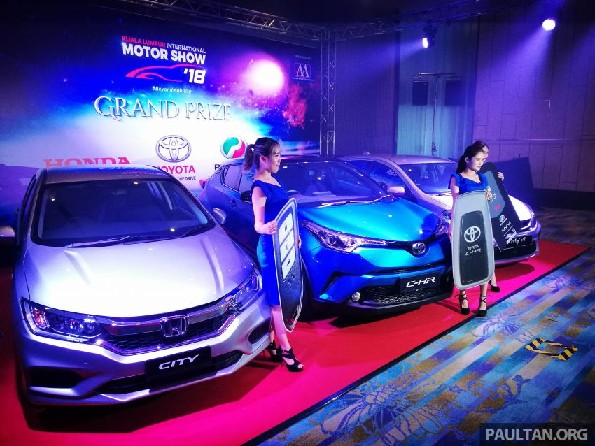 KLIMS 2018 – back after five-year hiatus, visitors stand to win Toyota C-HR, Honda City, Perodua Myvi, flights Image #873212