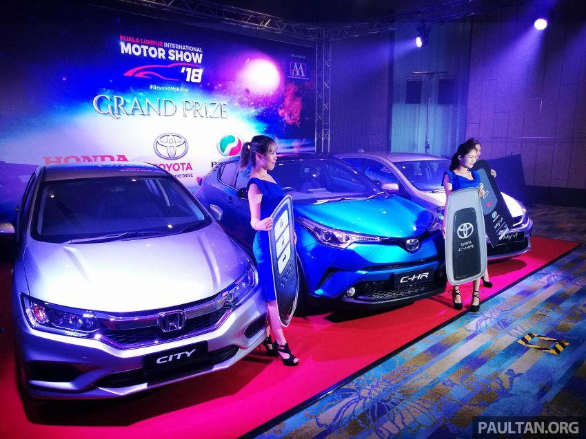 KLIMS 2018: Kembali selepas lima tahun – tiket RM20 tawar hadiah Toyota C-HR, Honda City, Perodua Myvi Image #873422