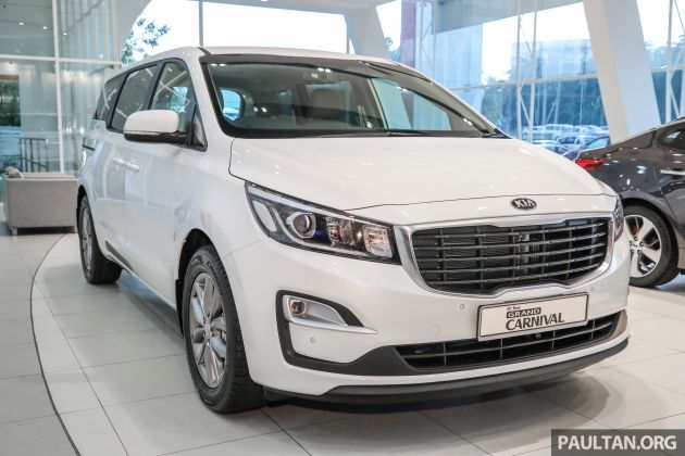The Kia Grand Carnival Facelift Has Quietly Snuck Its Way Onto Malaysian Soil And Malaysia Website Revealing A Barrage Of Equipment As Well