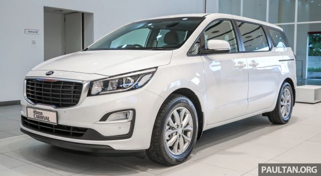 Kia Grand Carnival Facelift Pricing Revealed Kx And Sx New Eight