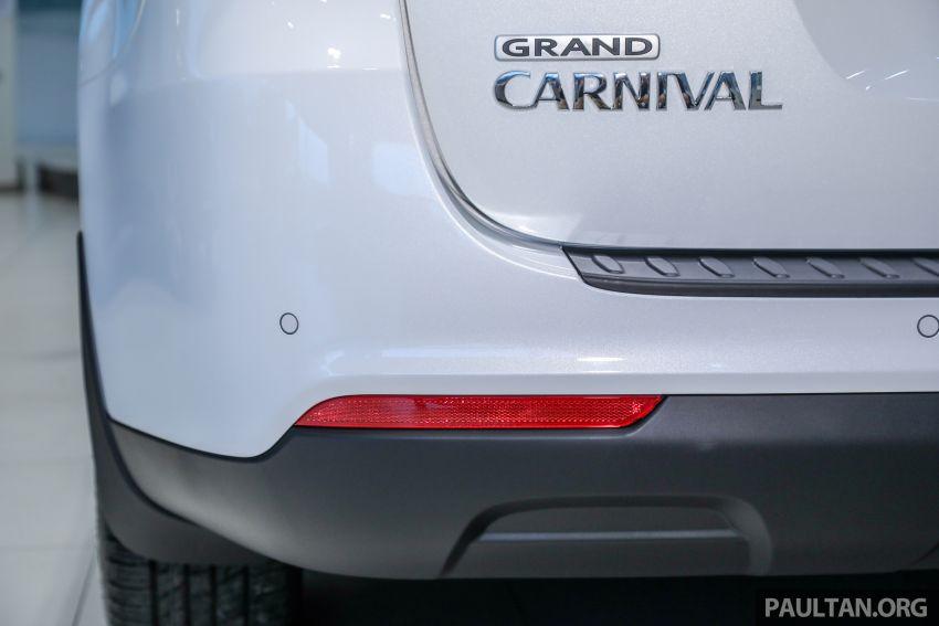 Kia Grand Carnival <em>facelift</em> 2019 di M'sia, dari RM156k Image #879975