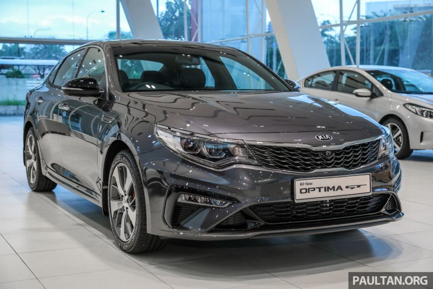 2019 Kia Optima facelift arrives in Malaysia – NA and turbo engines listed; GT variant; from RM169,888 Image #879655