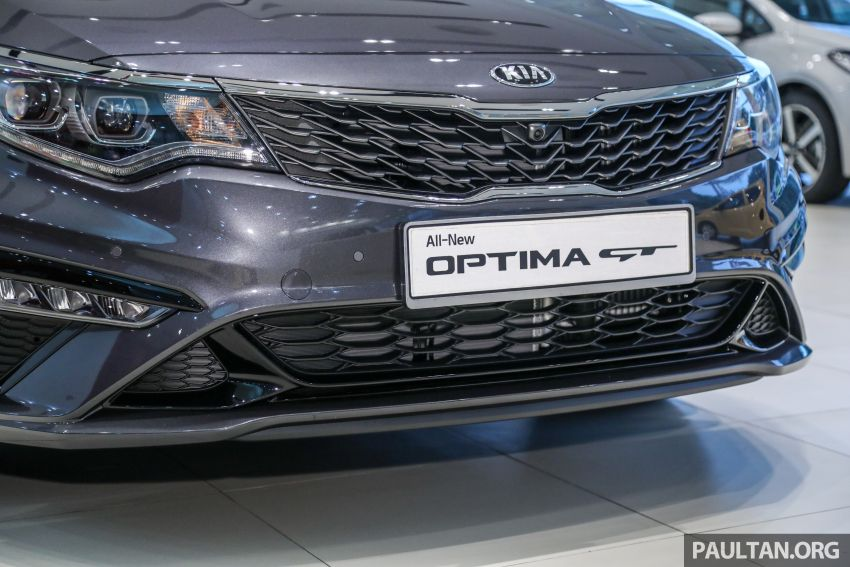 2019 Kia Optima facelift arrives in Malaysia – NA and turbo engines listed; GT variant; from RM169,888 Image #879667