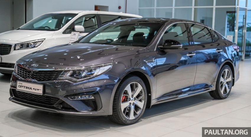 2019 Kia Optima facelift arrives in Malaysia – NA and turbo engines listed; GT variant; from RM169,888 Image #879656