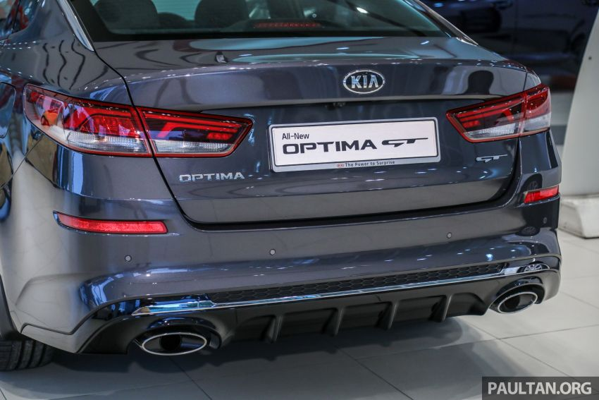 2019 Kia Optima facelift arrives in Malaysia – NA and turbo engines listed; GT variant; from RM169,888 Image #879678