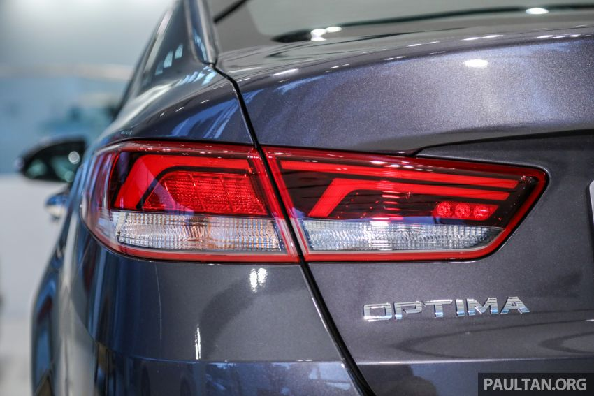 2019 Kia Optima facelift arrives in Malaysia – NA and turbo engines listed; GT variant; from RM169,888 Image #879680