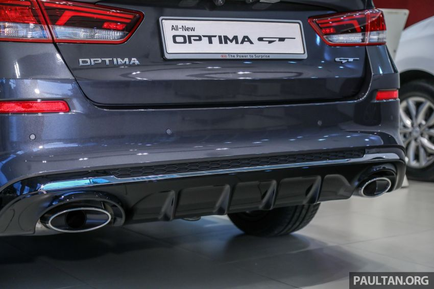 2019 Kia Optima facelift arrives in Malaysia – NA and turbo engines listed; GT variant; from RM169,888 Image #879683