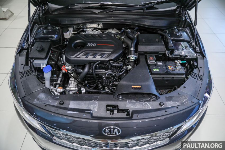 2019 Kia Optima facelift arrives in Malaysia – NA and turbo engines listed; GT variant; from RM169,888 Image #879686