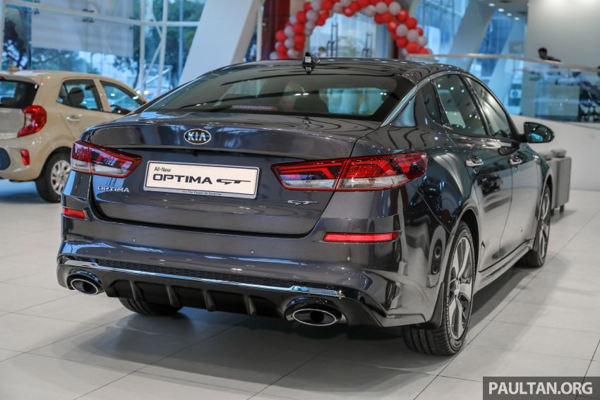 2019 Kia Optima facelift arrives in Malaysia – NA and turbo engines listed; GT variant; from RM169,888 Image #879657
