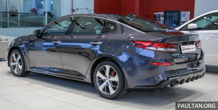 2019 Kia Optima facelift arrives in Malaysia – NA and turbo engines listed; GT variant; from RM169,888 Image #879659